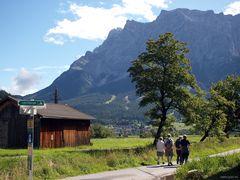 Zugspitze bei Lermoos (Österreich)