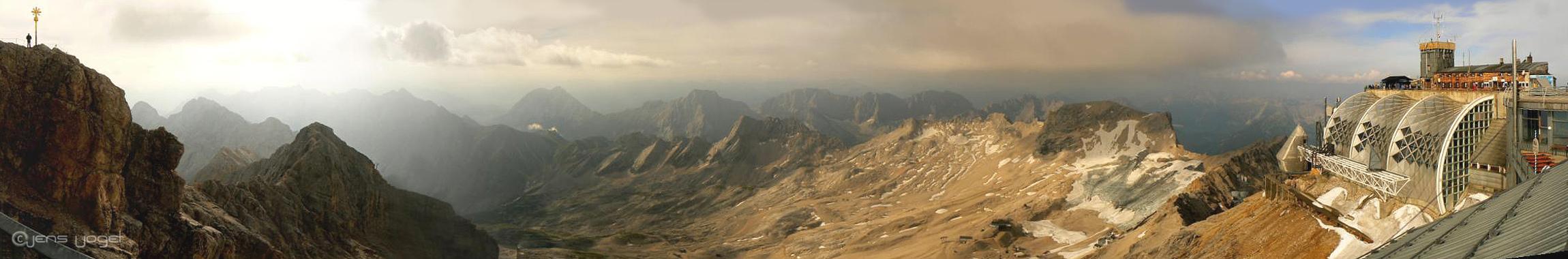 Zugspitze Blick SO