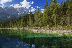 Zugspitze in Wolken ©