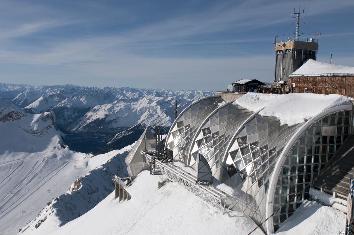 Zugspitze Münchner Haus Foto & Bild