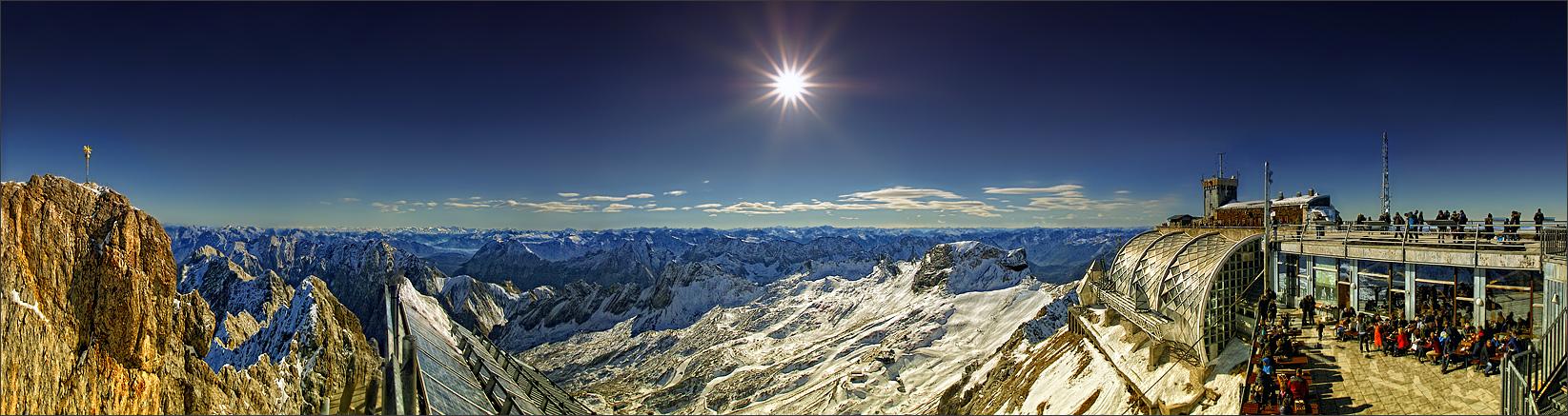 Zugspitze Panorama Zugspitze Panorama Fot...