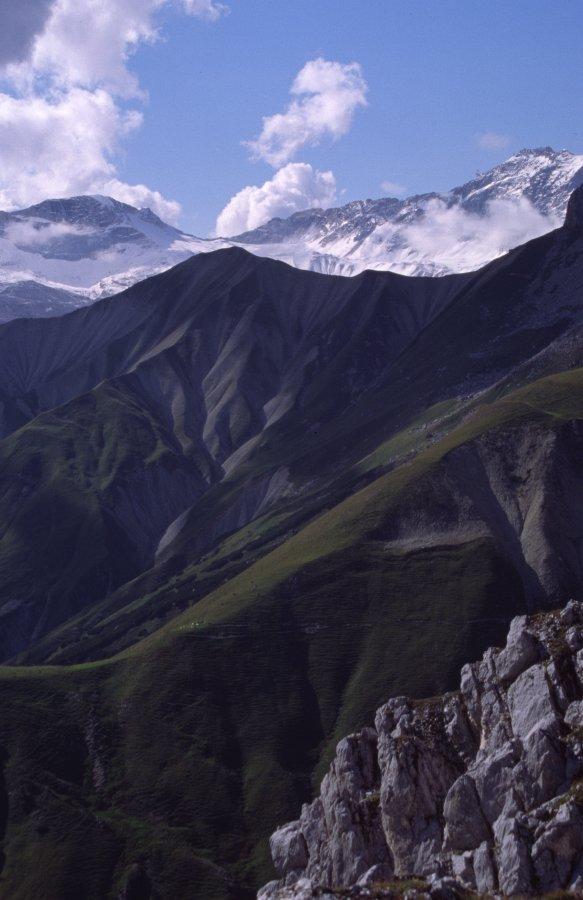 Zugspitze über Wetterstein