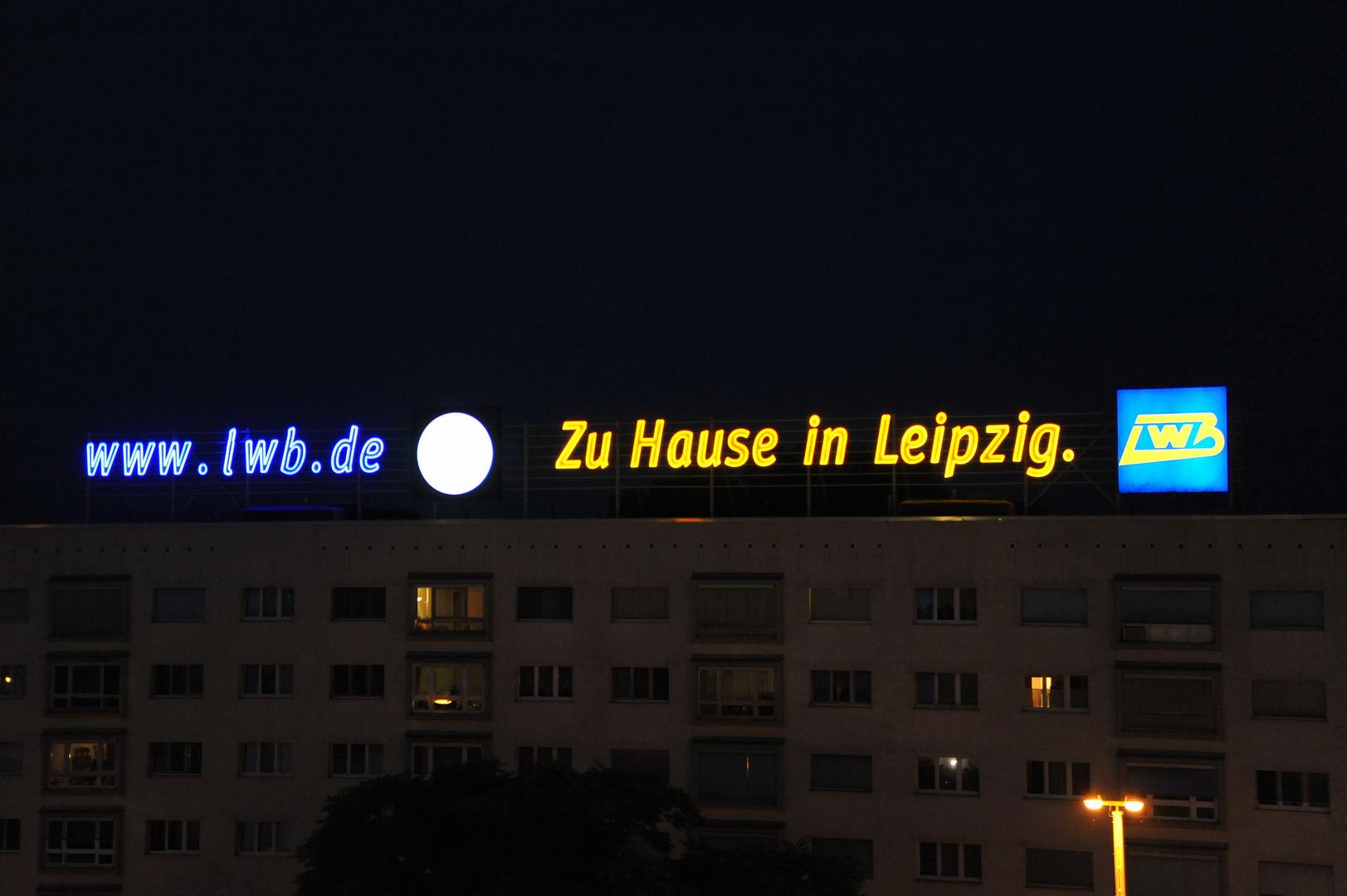 Zuhause in Leipzig