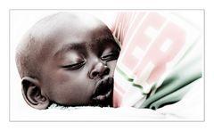 Zukunft mit geschlossenen Augen Burundi