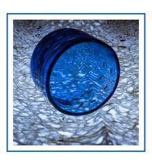 Zum 28.03.21 Blue Monday -Glas-