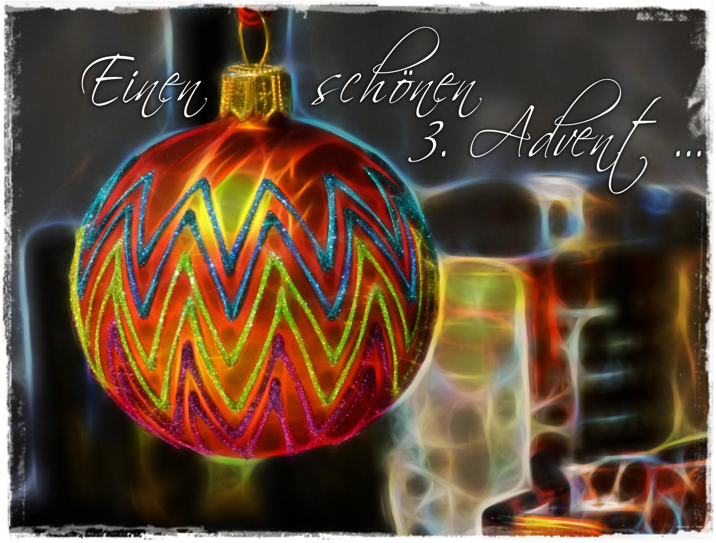Zum 3. Advent ...