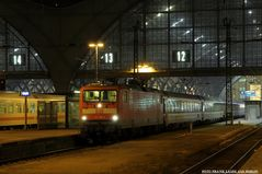 Zum Eurocity nach Zürich...