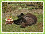 Zum Geburtstag von Annette ...