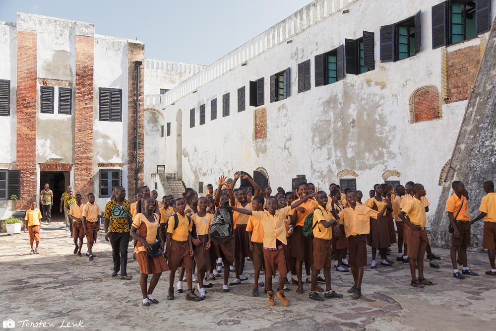 Zum Glück gibt es aber auch diese Momente in Elmina