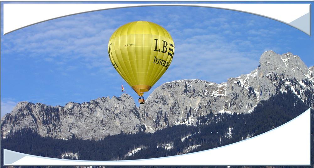 zum Greifen nahe - Ballon und Säuling