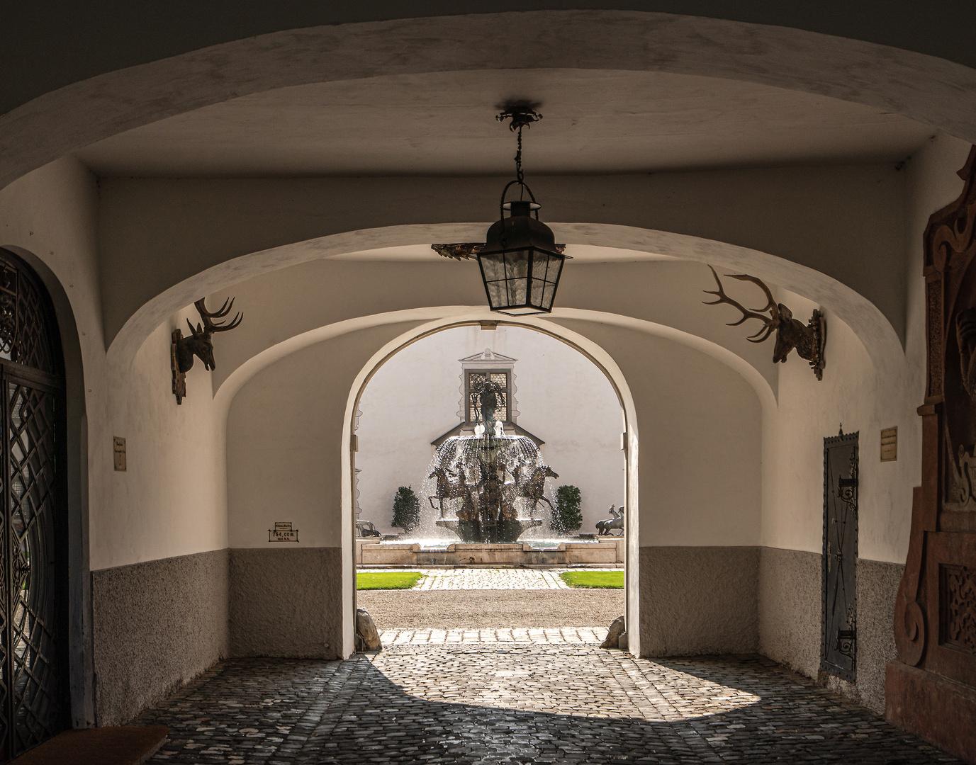 Zum Innenhof