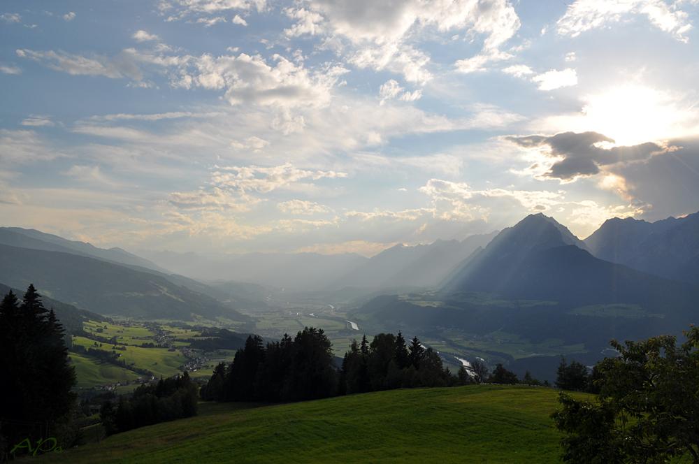 Zum Karwendelgebirge