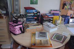 Zum Kotzen!!! Kreizkrempelei hier im Büro!!!!!