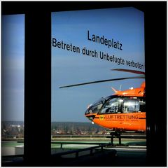 zum Landeplatz
