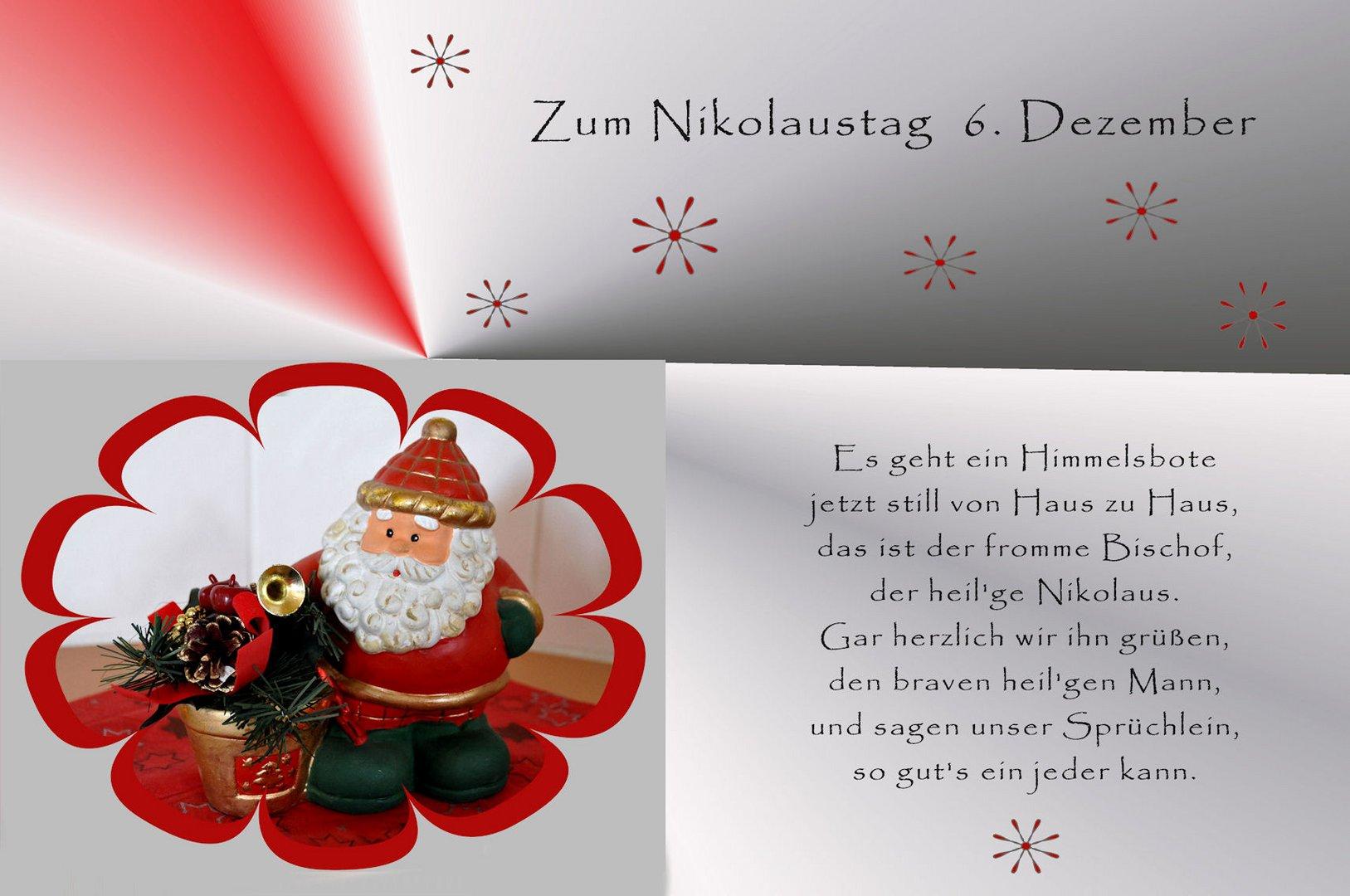 Zum Nikolaus Foto Bild Karten Und Kalender