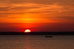 Zum Sonnenuntergang Martinshafen...