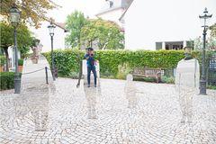 Zum Spiegeltag / Spiegelfiguren - Sichtbar - Unsichtbar