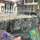 Zum Spiegeltag: Zebras...