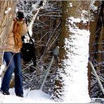 .. zum Thema: Bäume im Winterkleid ...