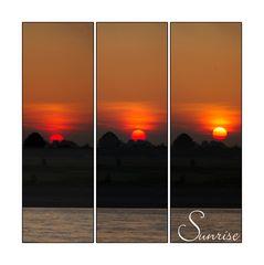 """Zum Thema """"Sonnenaufgang"""""""