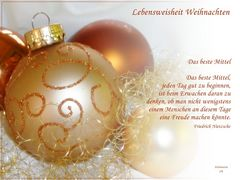 Zum Weihnachtsfest ...