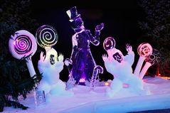 Zum Winterausklang - Eisfiguren -1