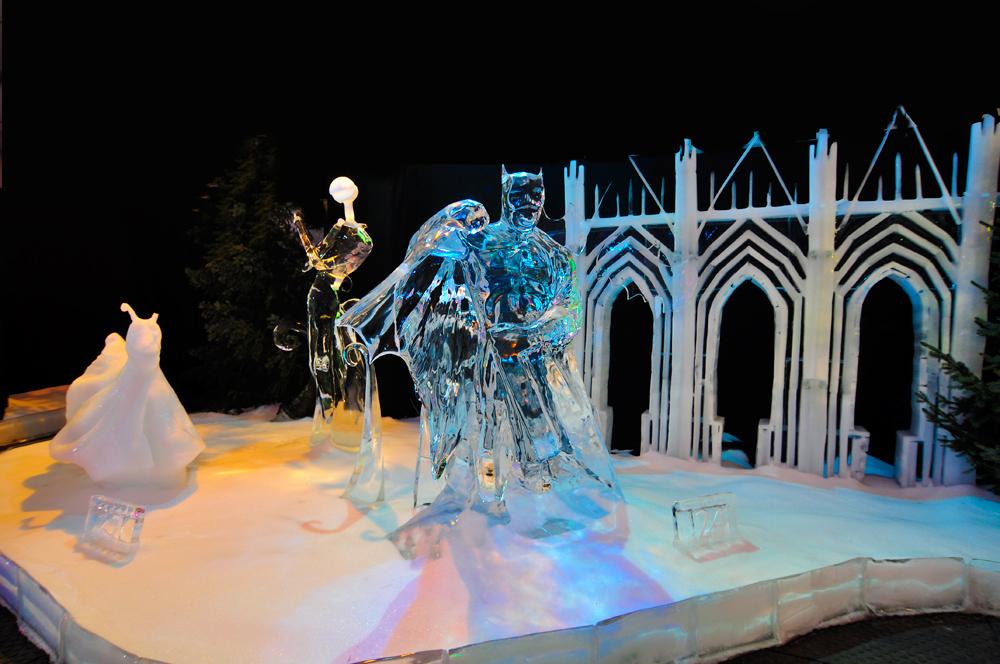 Zum Winterausklang - Eisfiguren -3