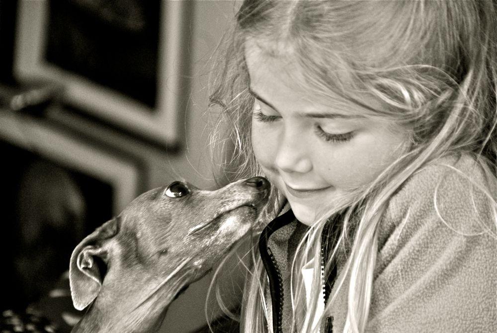 Zuneigung Foto & Bild   kinder, menschen Bilder auf