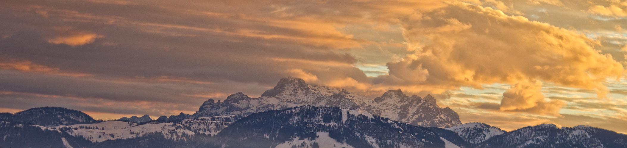 zur Abwechslung mal Berge