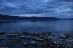 Zur blauen Stunde am See