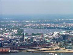 Zur Erinnerung wie es aussah bevor die Speicherstadt zugebaut wurde:-(((