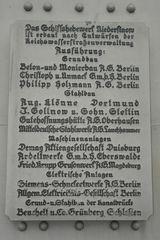 zur Serie: Sch.Hebewerk Niederfinow ( IVX.)