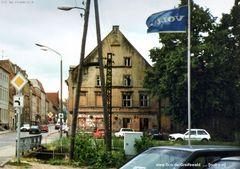 Zur Sonne, Volvo Fahne, Steinbecker Straße um 1995 - (c)