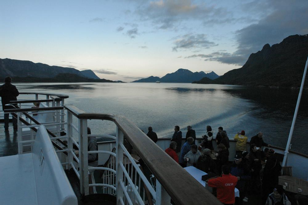 zurück aus dem Trollfjord