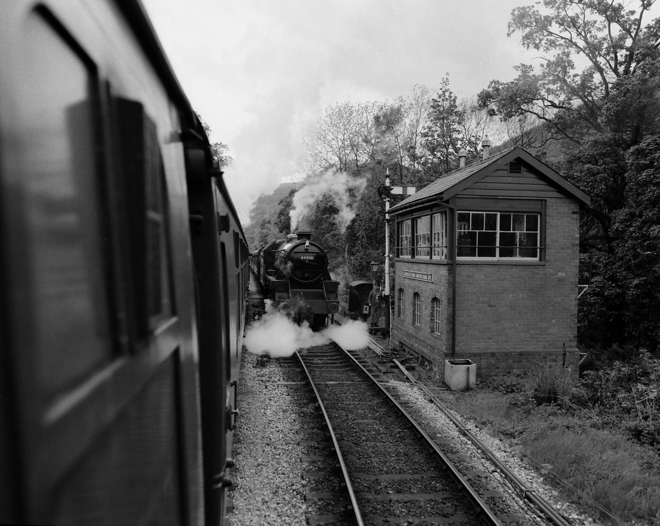 Zurückerobertes Eisenbahn-Paradies