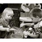 Zusammen Kochen