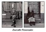 Zwei alte Provencalen