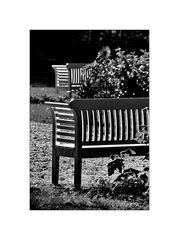 zwei bänke