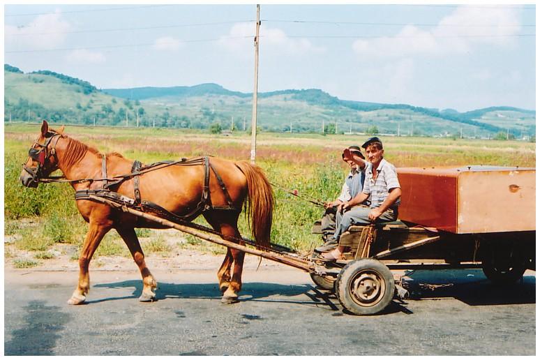 Zwei Bauern auf dem Weg nach .....