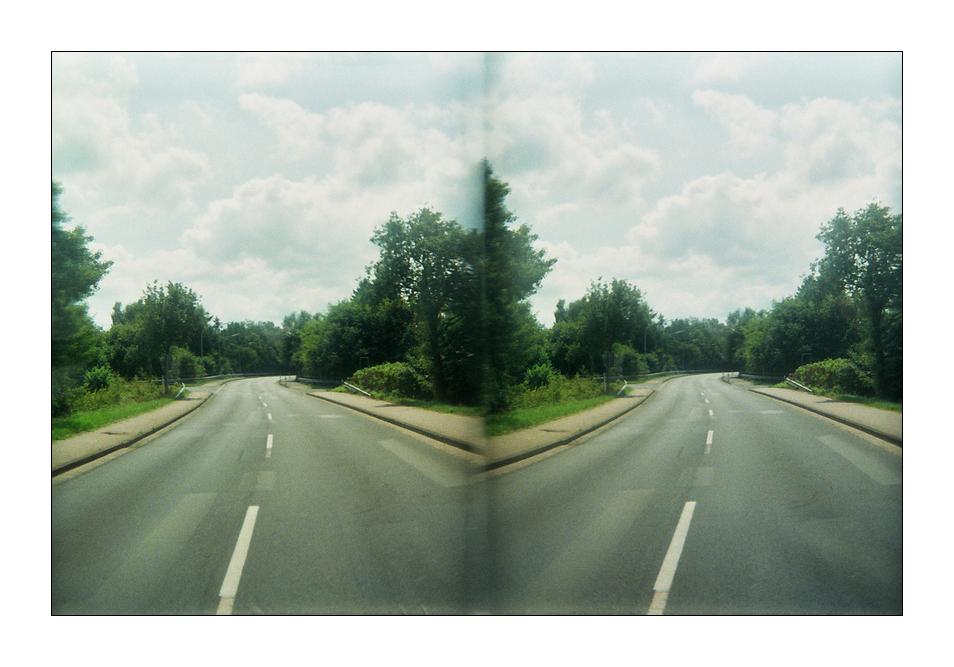 Zwei, eine Richtung