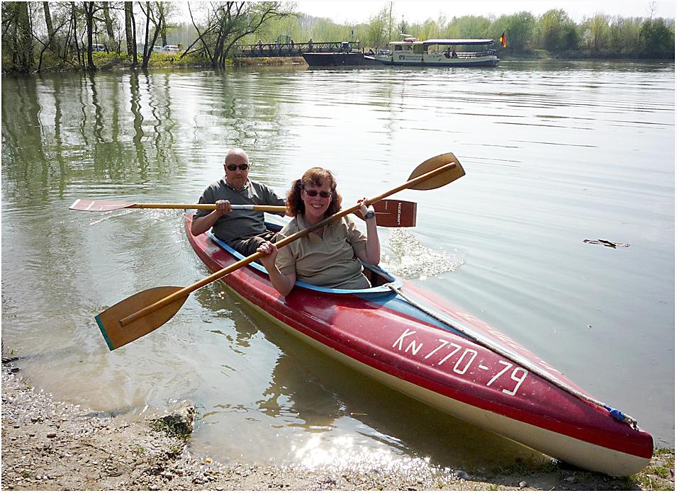 Zwei in einem Boot