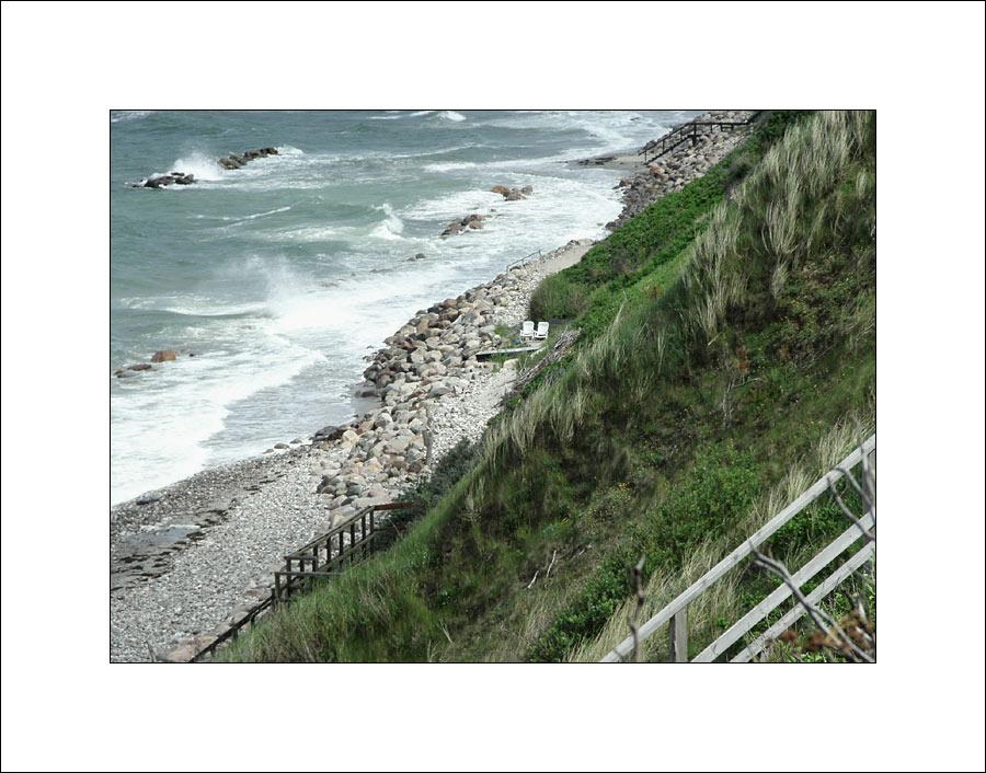 Zwei Logenplätze am Steilufer auf Seeland