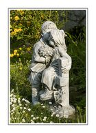  ___ Zwei Männlein stehn' im Garten, ganz still und stumm ___ 