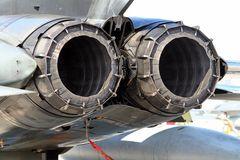 Zwei RB199-Triebwerke des Tornado