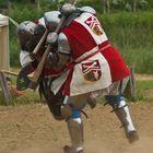 Zwei Ritter, zwei Beine