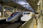 Zwei Shinkansen