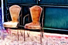 zwei Stühle.........
