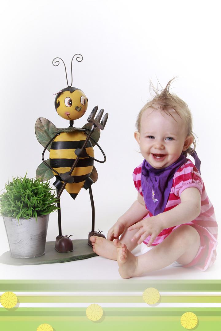 Zwei süße Bienen...