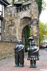 Zwei Touris in Goslar