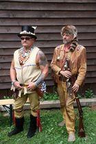Zwei Trapper bei Countryfest